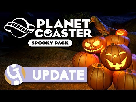 🎃 Spooky Pack DLC Overview | Planet Coaster