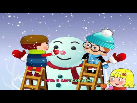 Frosty The Snowman | Christmas songs ( 4K Music Video )