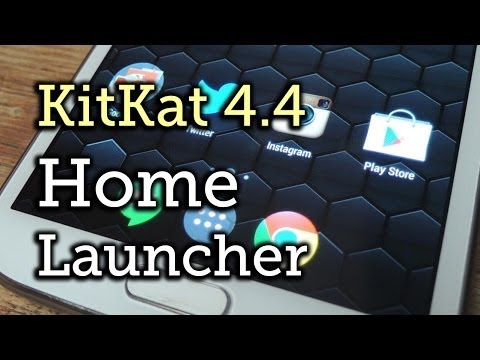 Get Android 4.4 KitKat Home Launcher & Google Now - Samsung Galaxy Note 2 [How-To]