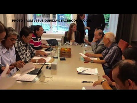 Duterte representatives meet Sison in Norway