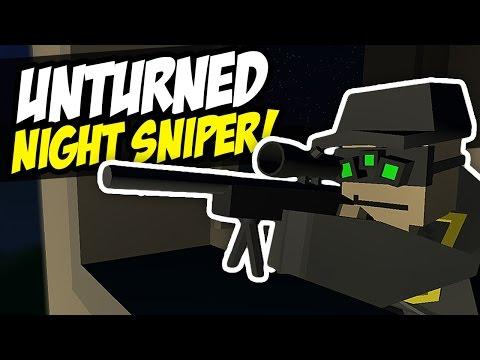 NIGHT SNIPER - Unturned PVP (Sniping)
