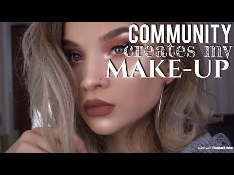 COMMUNITY CREATES MY MAKE-UP l Merve Tkd