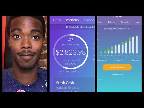 Stash App after 1 year of investing. How to Invest in the stock market.