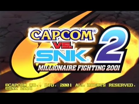 CAPCOM VS. SNK 2: Millionaire Fighting (Dreamcast) - Rugal Kicks My Ass