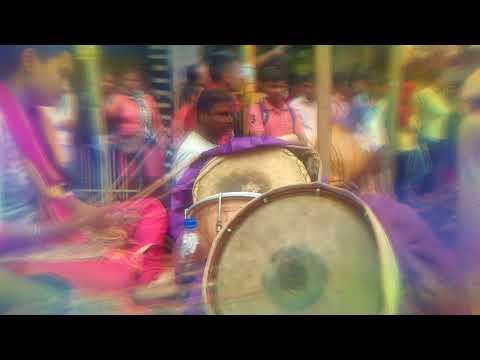 Sambhal | Maharashtrian folks musical instrument | Pune Ganapati 2017 Laxmi Road