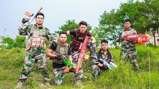 LTT Nerf War : Special Task SEAL X Warriors Nerf Guns Fight Criminal Group Secret
