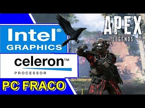 APEX LEGENDS - CELERON N2940 | INTEL HD GRAPHICS | 4GB RAM [PC FRACO]