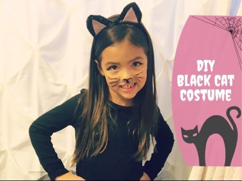 DIY Kitty Cat Costume  sc 1 st  Gally Kids & Kids Cat Halloween Costumes That Look So Adorable And Catty!