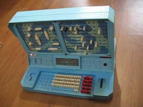 Морской бой - электронная настольная игра времен СССР