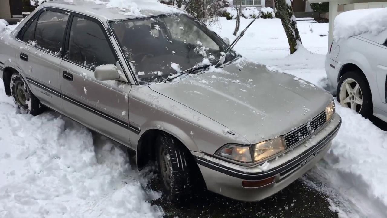 Toyota Corolla Sel Awd Snow 1