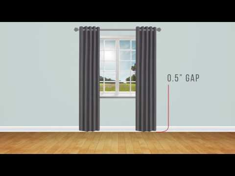 Curtain Buying Guide: Measuring For Length
