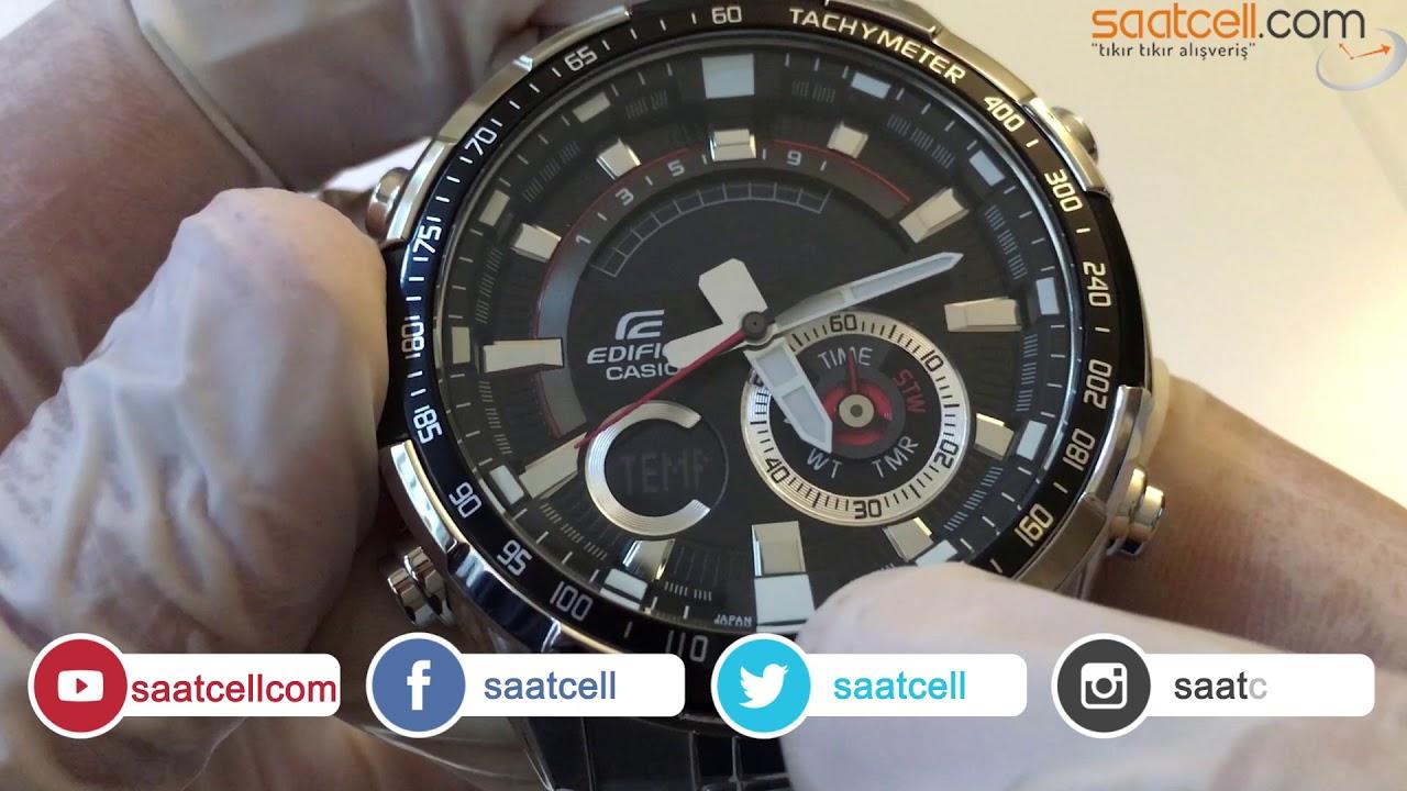 Casio Edifice Era 600d 1av Kol Saati Inceleme Ayarlama Youtube