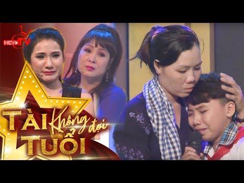 Tài năng 13 tuổi hát về mẹ khiến dàn sao Việt khóc nức nở