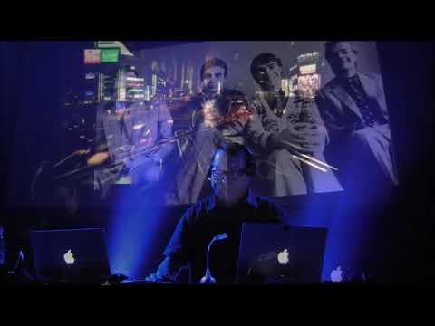 WOLFGANG FLÜR  (Kraftwerk) /  Neon Lights - Homecomputer /   Live @ Winterfest, Belgium,