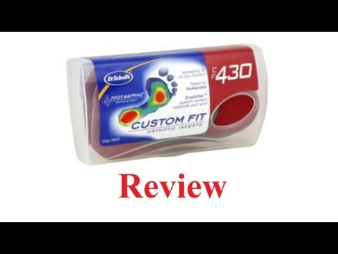 Dr. Scholls Custom Orthotics Review