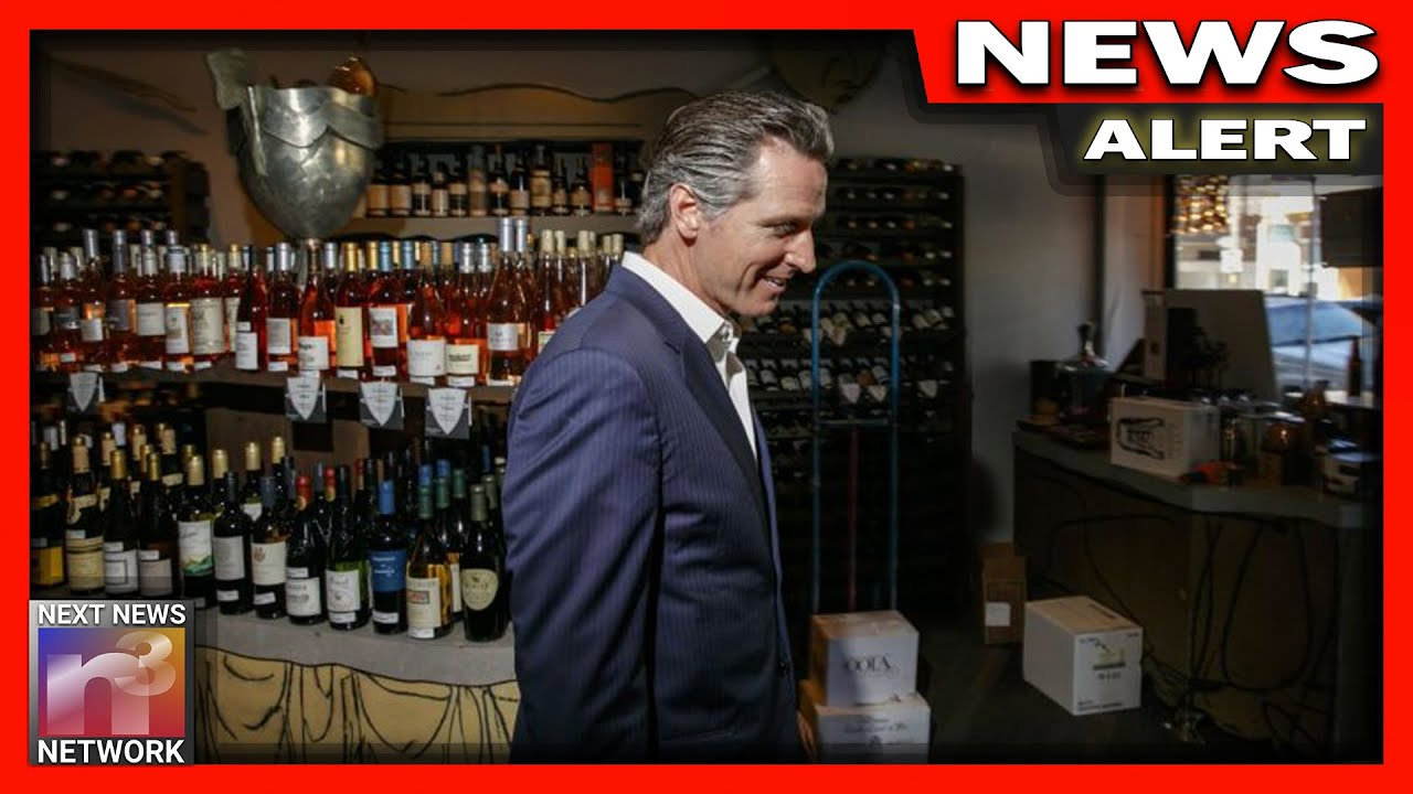 BOOM! Gov Newsom TRIGGERED After His Dirty Secret is EXPOSED to the Public