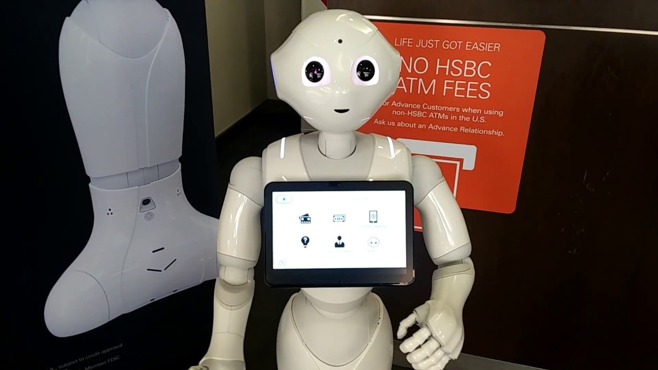 Dancing (and Banking) With Pepper the Robot in Beverly Hills | News