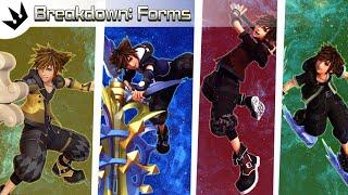 Form Breakdowns ~ Kingdom Hearts 3 Analysis