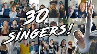 Blink 182 - All The Small Things (Cover by 30 Singers)
