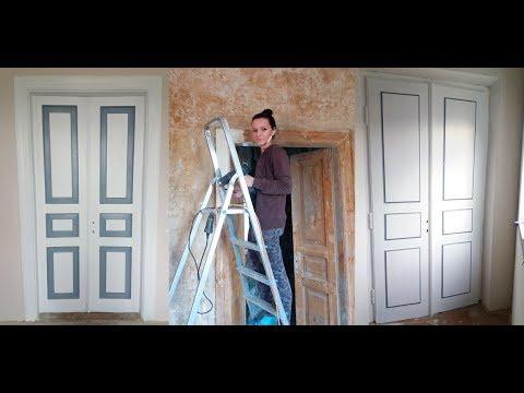 Как обновить старую деревянную дверь