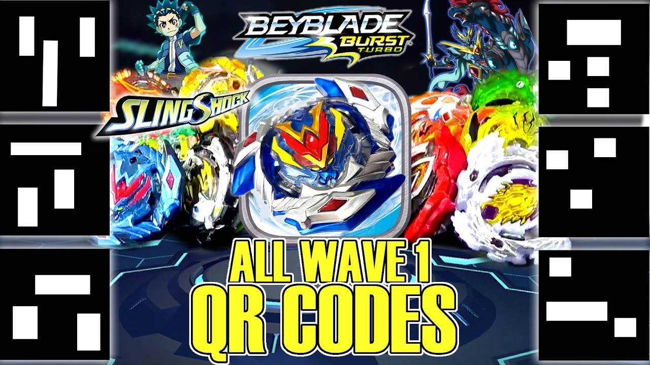 ALL WAVE 1 BEYBLADE BURST TURBO QR CODES CYPRUS COLLAB STADIUMS BEYBLADES LAUNCHERS - YouTube
