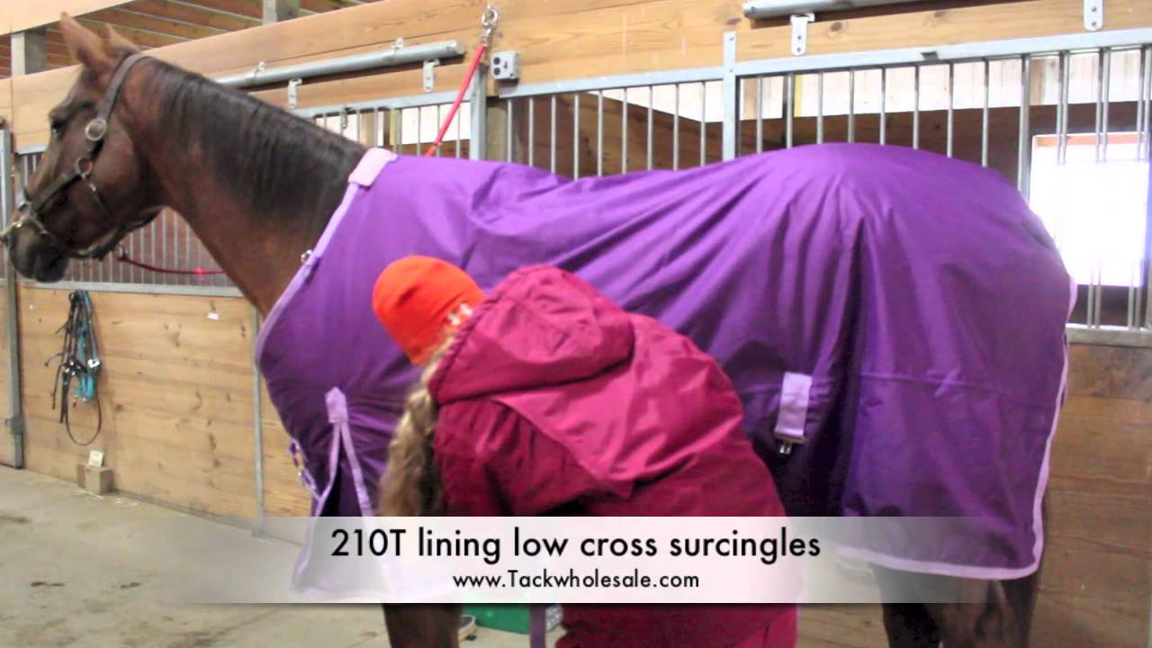 Should or shouldn't you blanket a weanling?