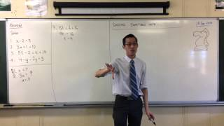 Solving Simple Linear Equations (Quick Questions #2)