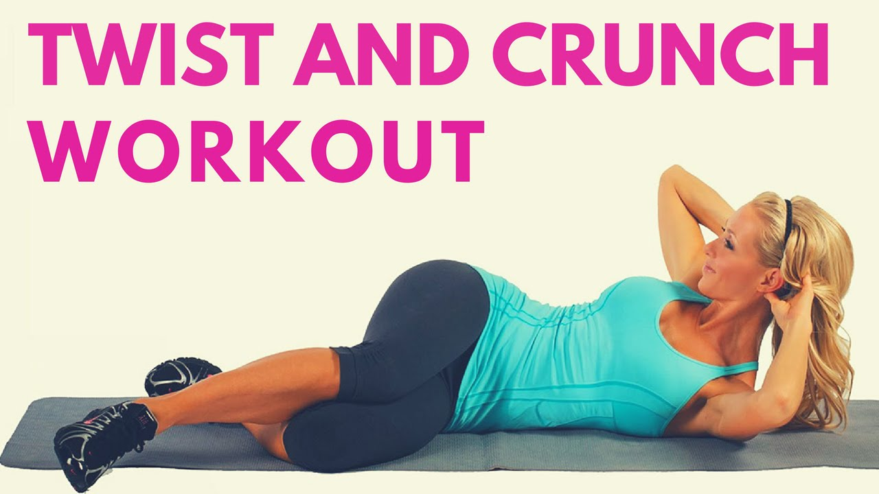 Crunch twists exercise