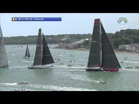 Rolex Fastnet Race 2015 - IRC CK, Zero & VO65 Start