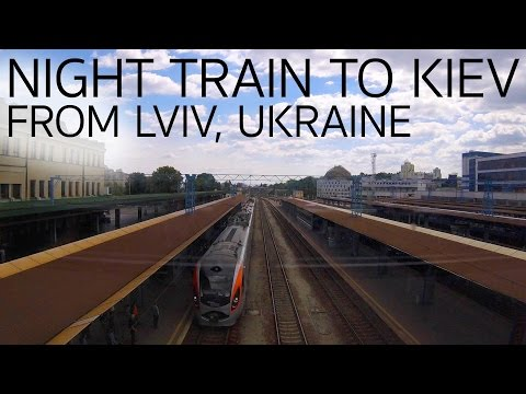 How to Take the Night Train from Lviv to Kiev Ukraine E009