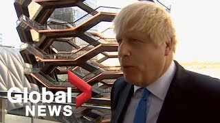 UK PM Boris Johnson reacts to Supreme Court ruling against him