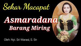 ASMARADANA Barang Miring (sedih), Slendro Sanga