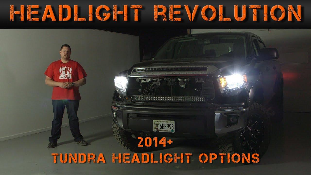 2014-2016 Toyota Tundra Headlight Options - Tundra Video ...