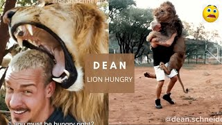 DEAN Schneider LION LOVER Animal lover || Dean Part of Lion Pride ||Dexter hungry.