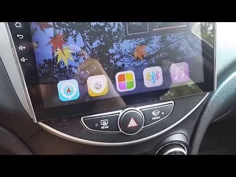2 Din Магнитола для Hyundai Solaris Accent Android 9.0 9 дюймов 2019