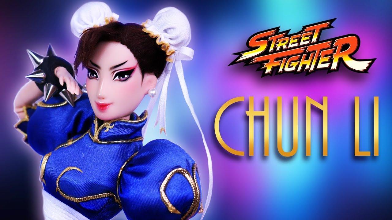 Custom Chun Li Doll Street Fighter