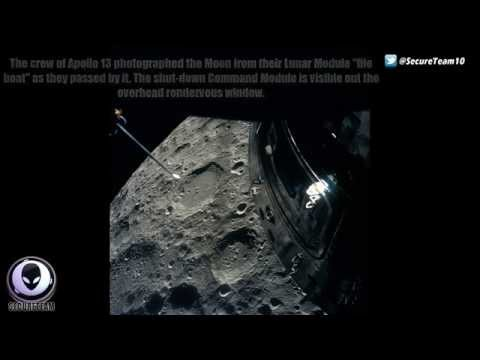 We SEE You! NASA Image Shows Alien Ships Around Apollo 13 Capsule 6/4/2015