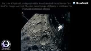 We SEE You! NASA Image Shows Alien Ships Around Apollo 13 Capsule 6/4/2015
