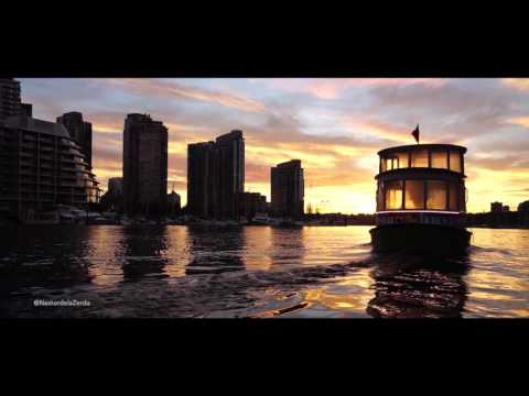 50 minutes of relaxing music to a Granville Island Sunrise