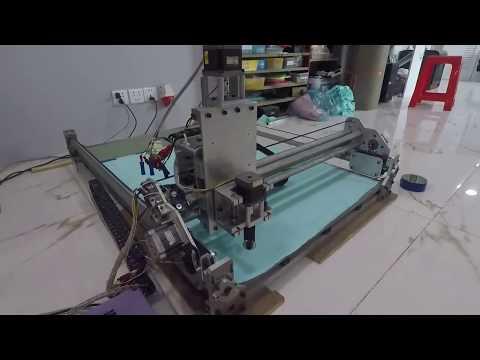 ម៉ាស៊ីនកាត់ក្រណាត់ស្វ័យប្រវត្ដិ | CNC Fabric cutting machine | Khmer Technology