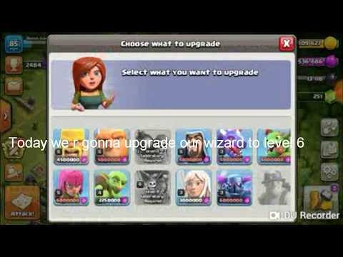 Clash Of Clans | Let's Upgrade This Wizard To Level 6🔥🔥🔥🔥