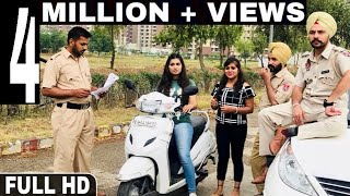 Police Naka - Official Video | Happy Jeet Pencher Wala | Latest Punjabi Comedy 2018