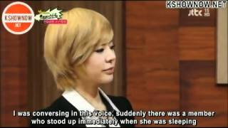 SNSD Yoona the prankster, got questioned by Sunny (Eng Sub)