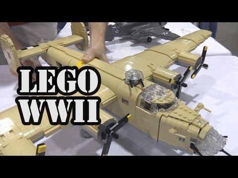 LEGO WWII B-24 Liberator American Bomber | BrickFair Alabama 2017