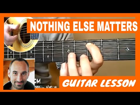 Metallica - Nothing Else Matters Guitar Tutorial