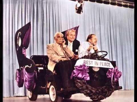 Vincent Price and Boris Karloff Singing Duet