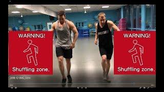Урок №5 - Обучалка Шафл - Side Shuffle (Боковой Шафл)