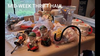 Mid Week Thrift Haul - Personal Use & Resale