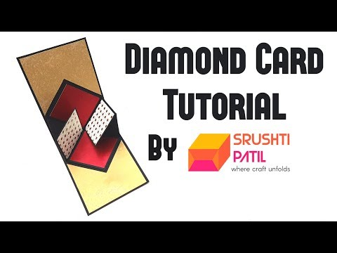 Diamond Card Tutorial by Srushti Patil thumbnail