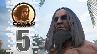 Getting Iron - Ep05 - Conan Exiles Removing The Bracelet